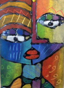 TAGS Art 2016-Picasso Faces