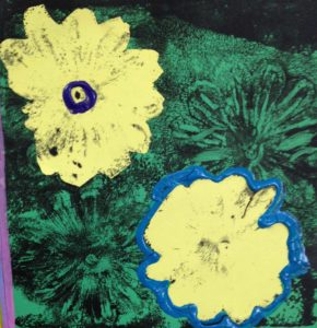 Art 2016-Flower Print