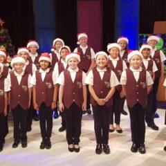 Choir Performs for TV